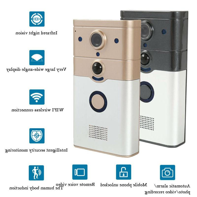 Wireless Doorbell Video Camera Phone Bell Intercom Home Security Tool