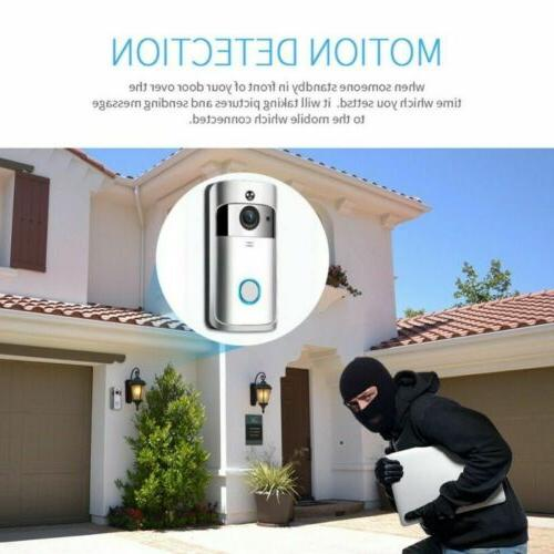 Wireless Smart Doorbell HD IR Vision Security