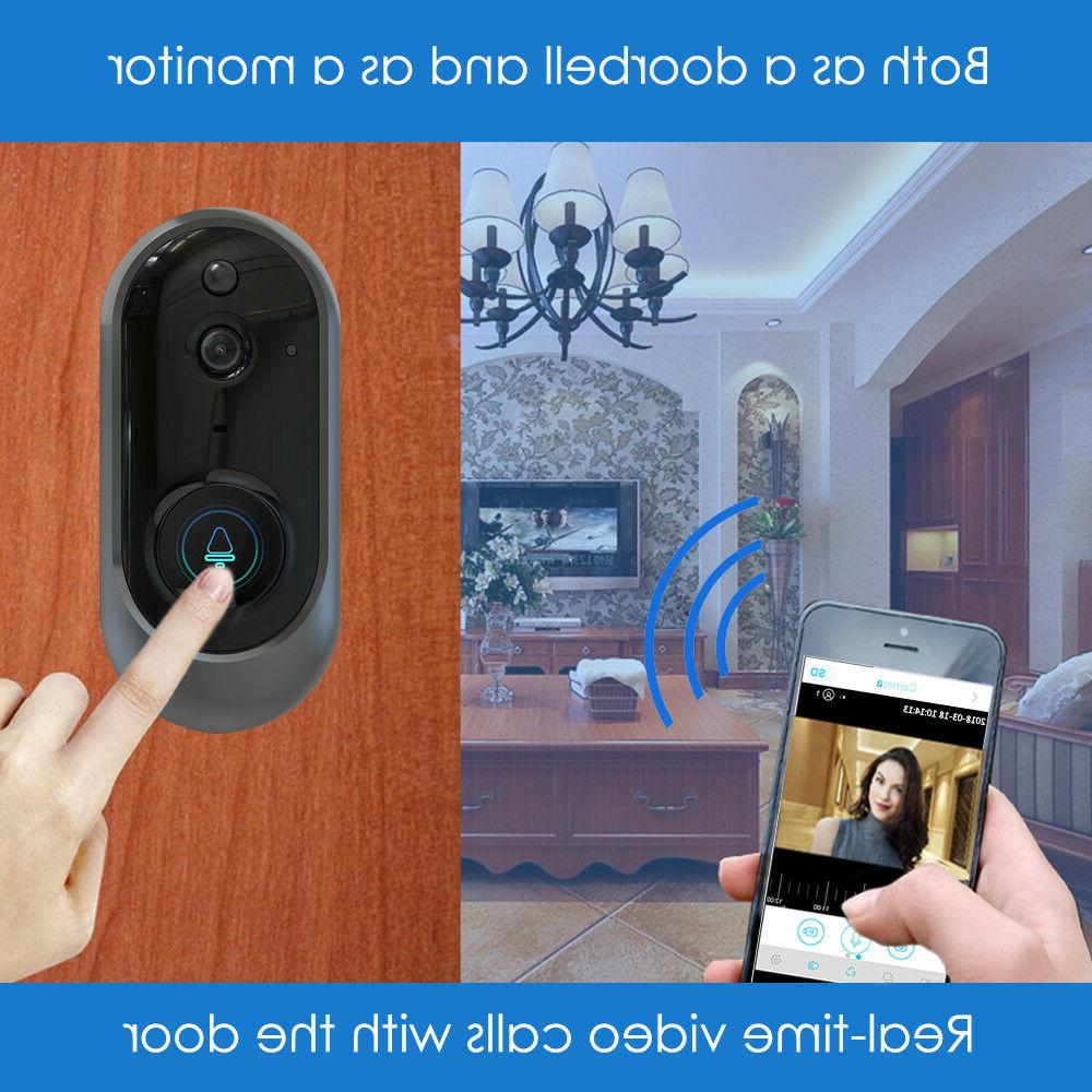 Wireless WiFi Video Phone Bell Visual Secure Camera