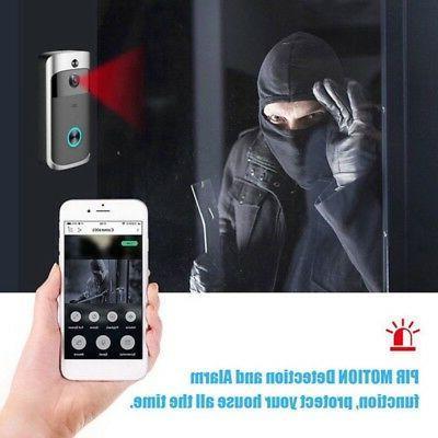 Wireless WiFi Smart DoorBell Video Phone Ring