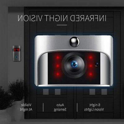 US Wireless Doorbell Smart PIR Bell Camera