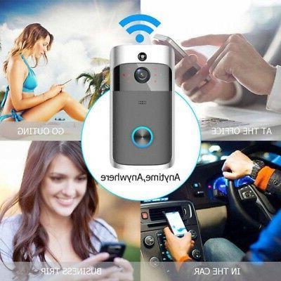 US WiFi Doorbell PIR Door Camera