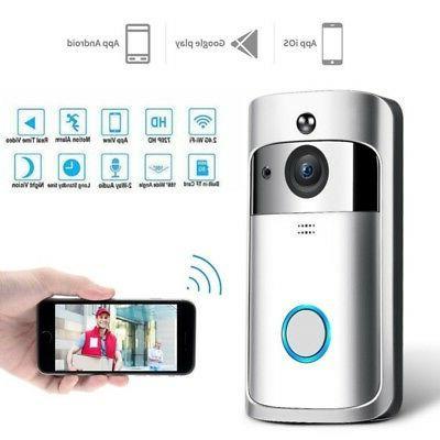 Wireless WiFi Smart Video Ring Secure Camera