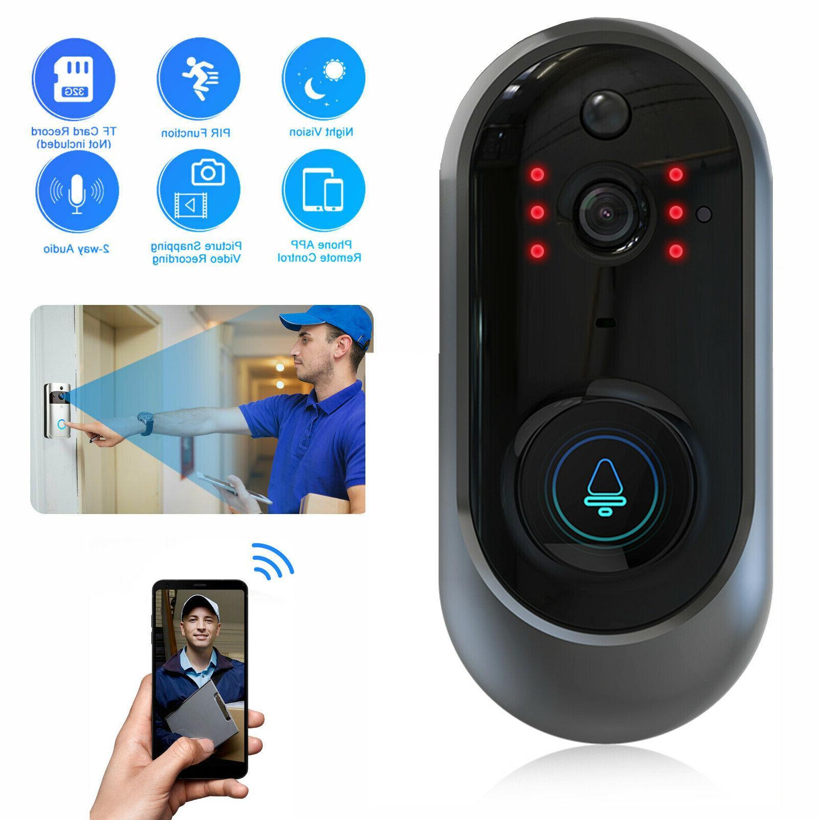 wireless wifi smart doorbell video phone door