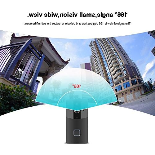 Acogedor Video Doorbell,PIR 720 Home Camera,Two-Way with Control Android