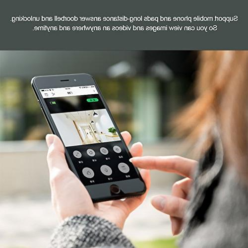 Acogedor Wireless Video Home Security Voice with Cancel Function,APP Control for and Android