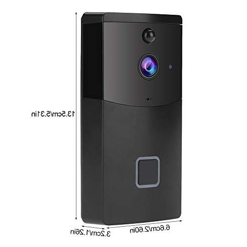 Acogedor Wireless WiFi Video Doorbell,PIR 1280 Home Security Camera,Two-Way with Control Android