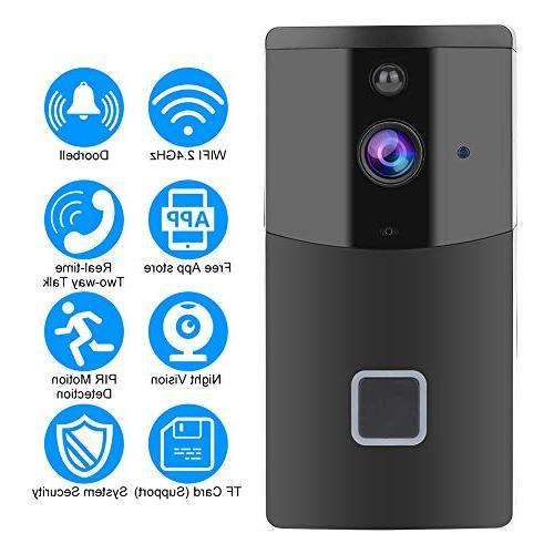 wireless wifi smart video doorbell pir 1280