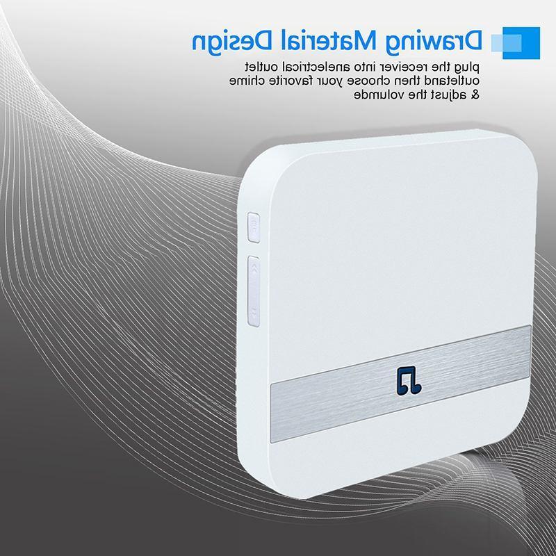 Wireless Wifi Smart Video <font><b>Doorbell</b></font> 433MH
