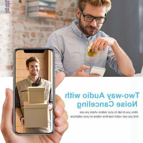 WiFi Doorbell Two-Way Talk Door Bell