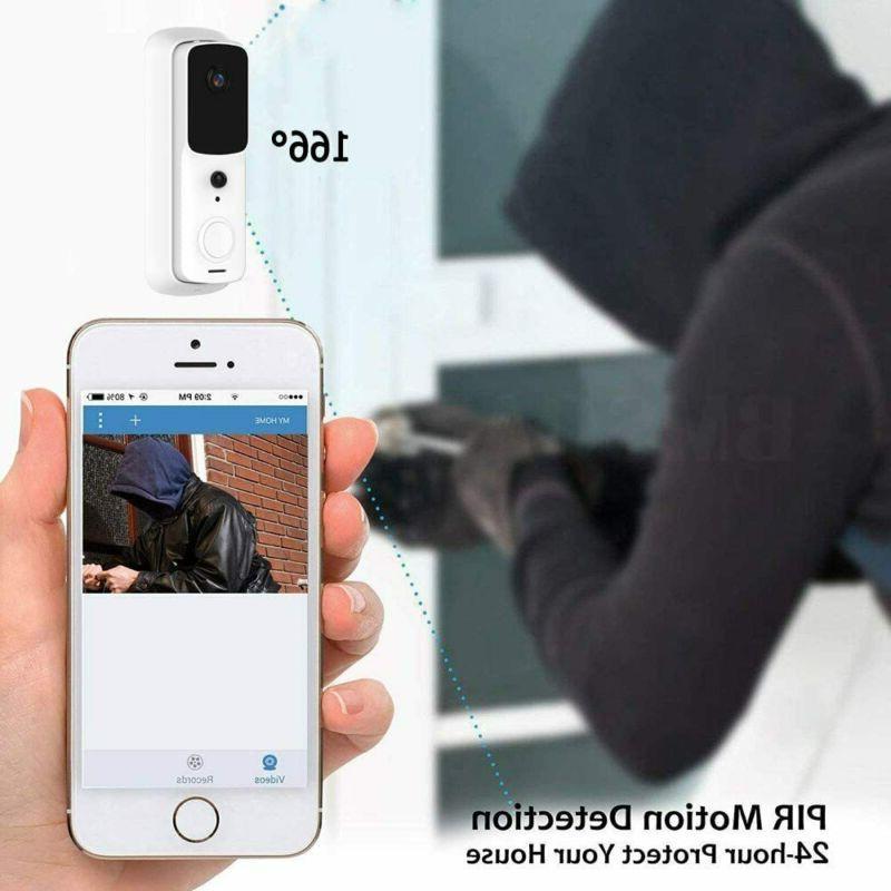Wireless Doorbell Smart Door Intercom Camera