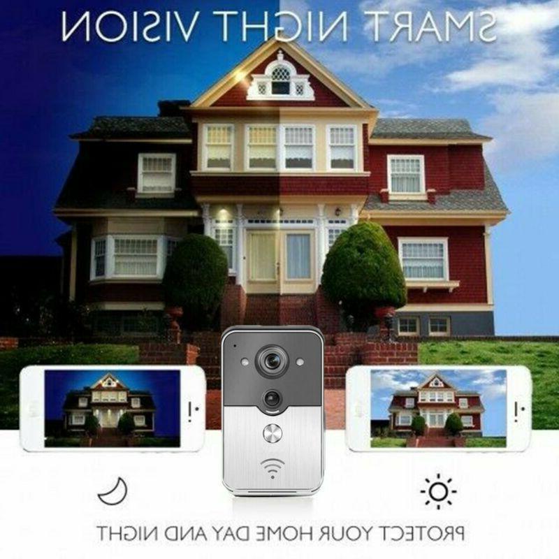 Wireless WiFi Video Smart Door Remote Intercom Secure Camera
