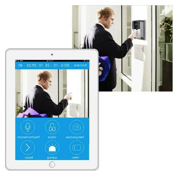 Wireless Doorbell Smart Intercom Camera