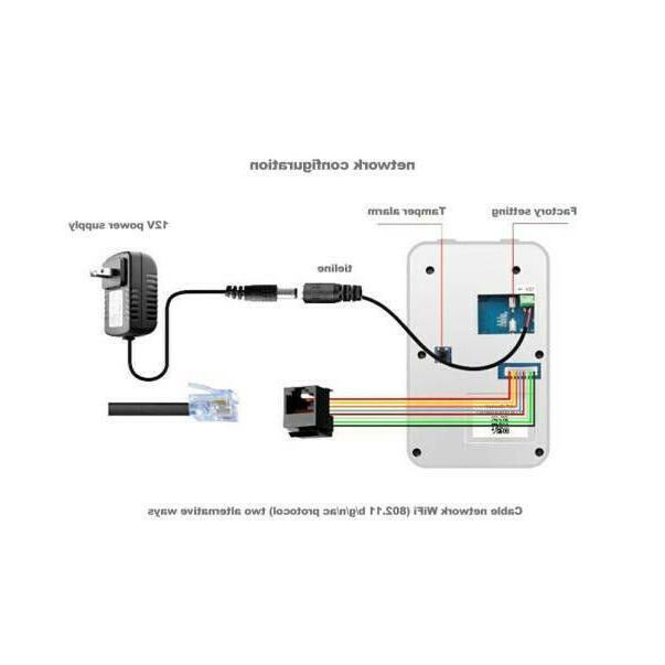 Wireless Video Doorbell Smart Door Ring Remote Intercom
