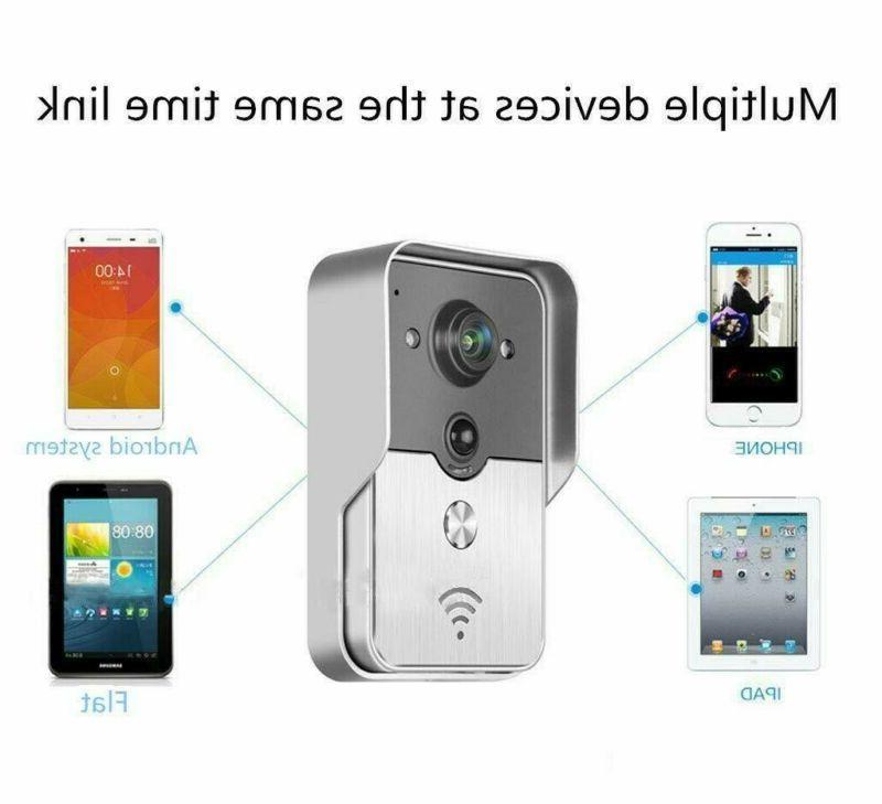 Wireless Doorbell Smart Intercom Secure