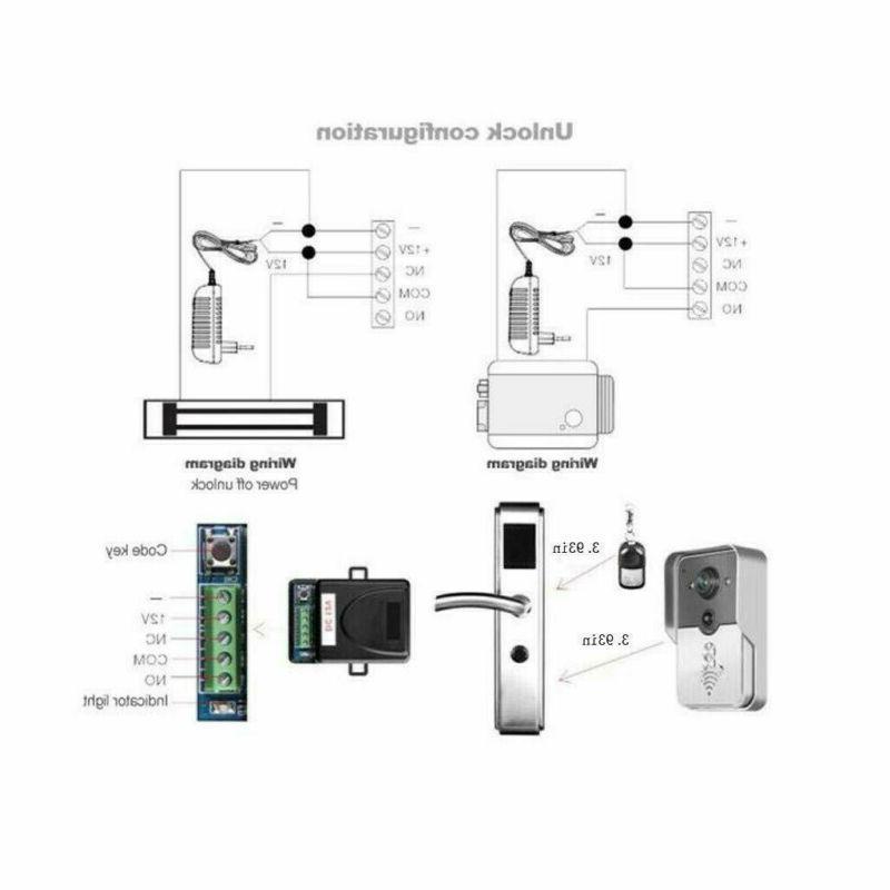 Wireless WiFi Smart Intercom Camera