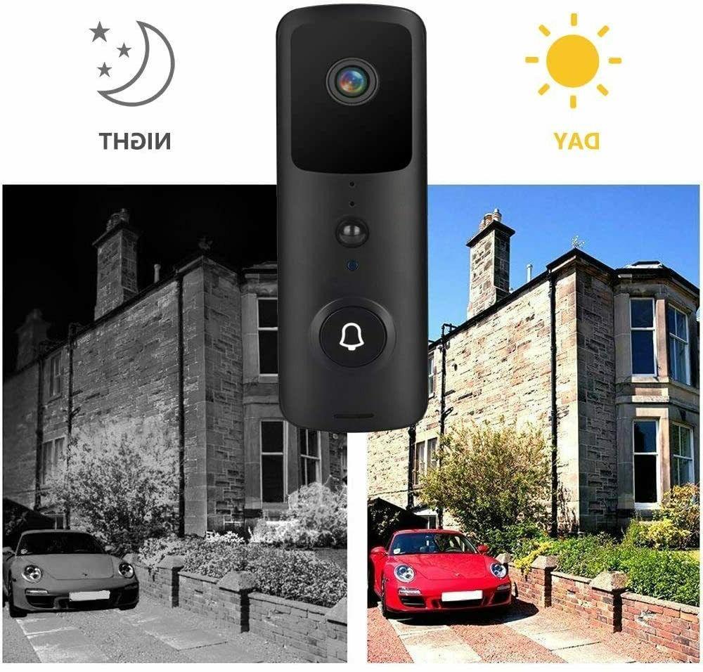 Wireless WiFi Video Smart Door Ring Security Bell
