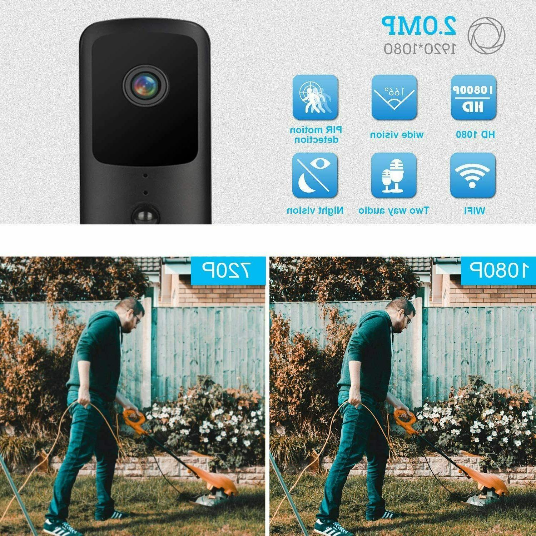 Wireless WiFi Doorbell Smart Security