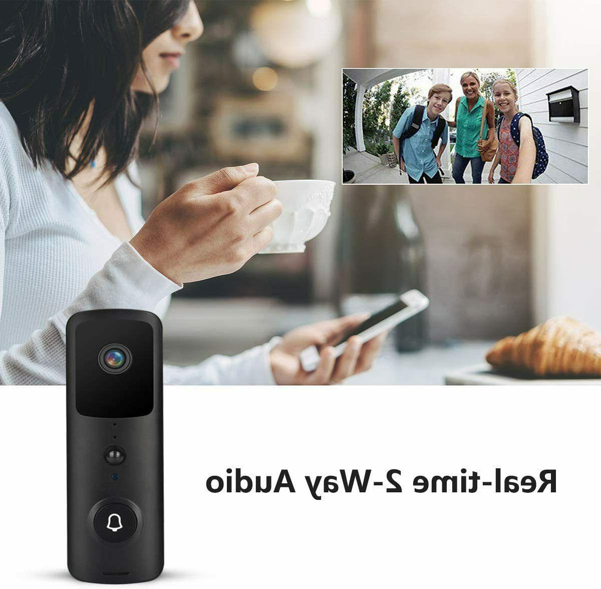 Wireless Video Doorbell Smart Security Bell