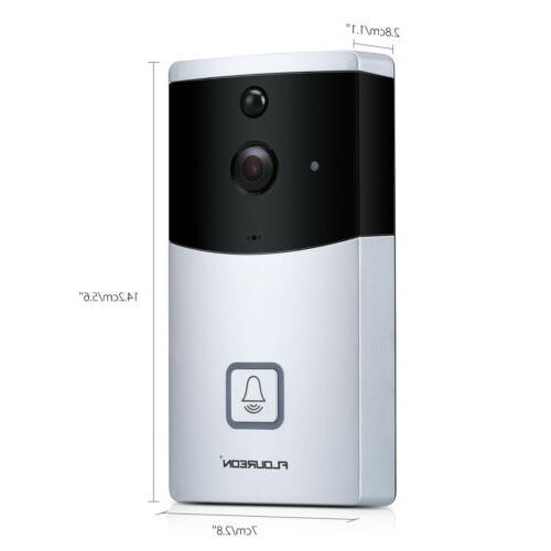 Wireless WiFi Video Doorbell Smartphone Security Camera Night
