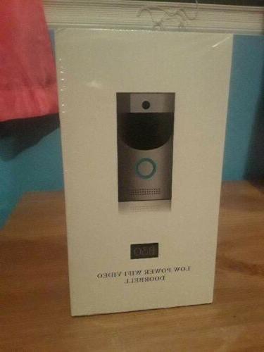 wireless wifi video doorbell smart phone door