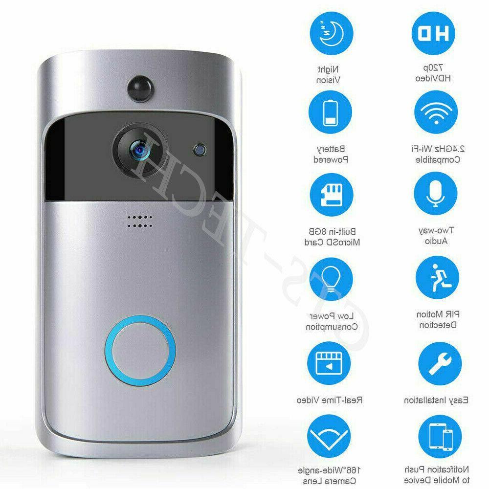 Wireless Smart Door Intercom Security