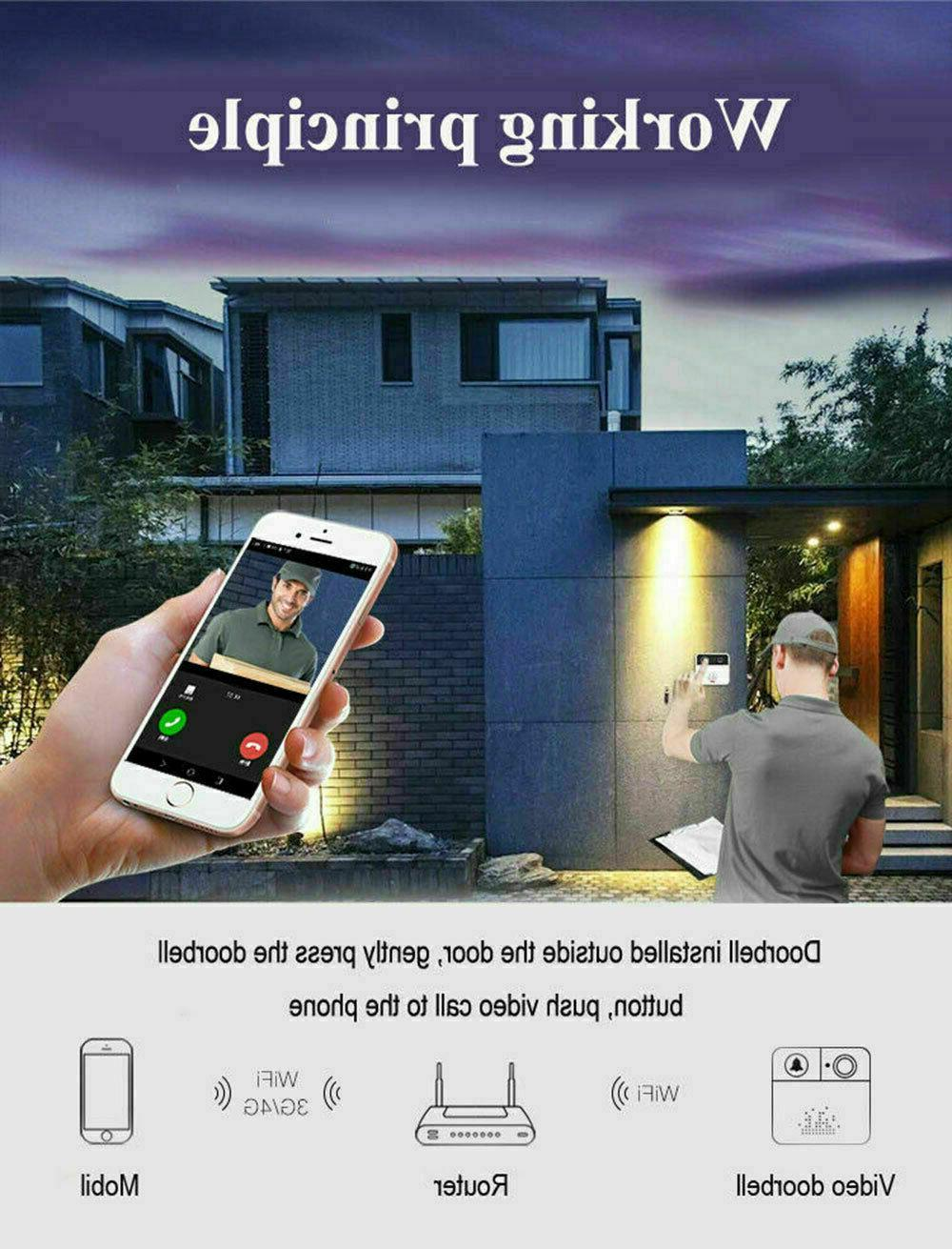 Wireless Video Smart Phone Intercom Security