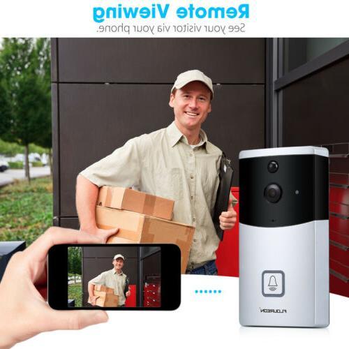 Wireless WiFi Video Smart Ring Intercom Security Bell