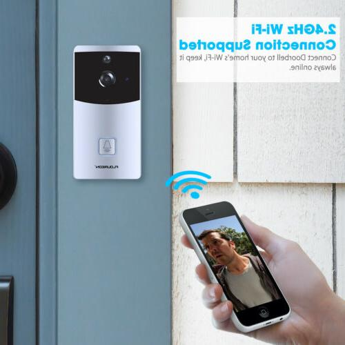 Wireless WiFi Smart Ring Intercom Camera