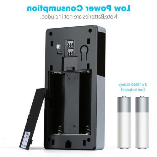 Wireless Video Doorbell Smartphone Intercom Security