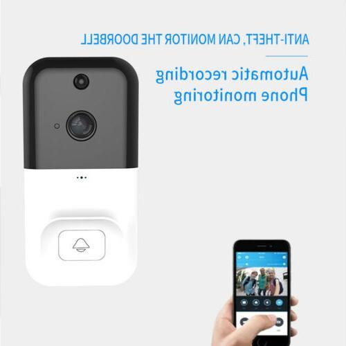 Wireless WiFi Doorbell Smartphone Security