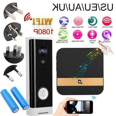 Wireless WiFi Video Smartphone Intercom Security Night