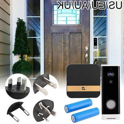 Wireless Smartphone Door Ring Security Night