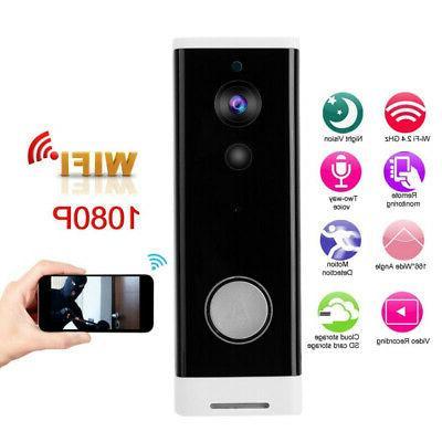 90-260V Wireless WiFi Smart Doorbell Video Door Bell Tool Hi