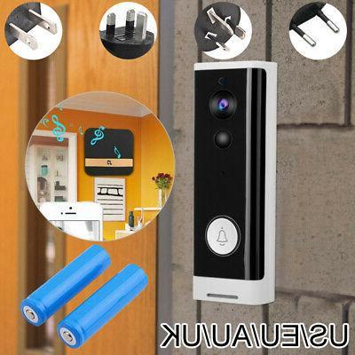 wireless wifi video doorbell smartphone door ring