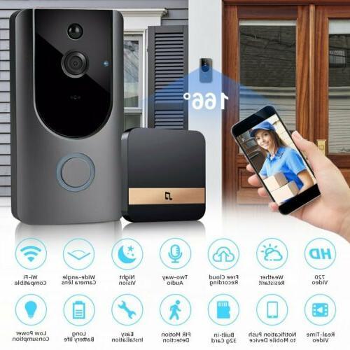 WiFi Wireless Doorbell Two-Way Talk