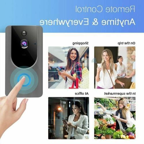 WiFi Two-Way Talk PIR Door Bell