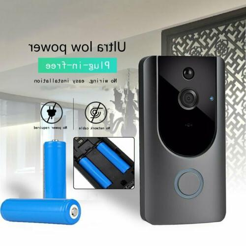 WiFi Doorbell Two-Way Talk PIR Door