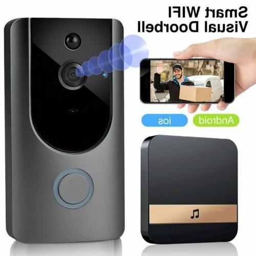 wifi wireless doorbell video two way talk