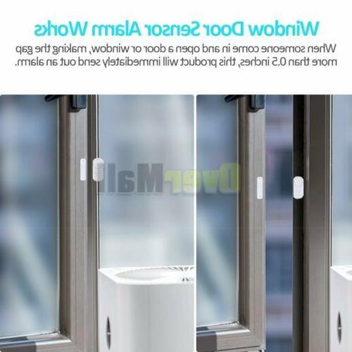Wireless Burglar Alarm Chime Magnetic