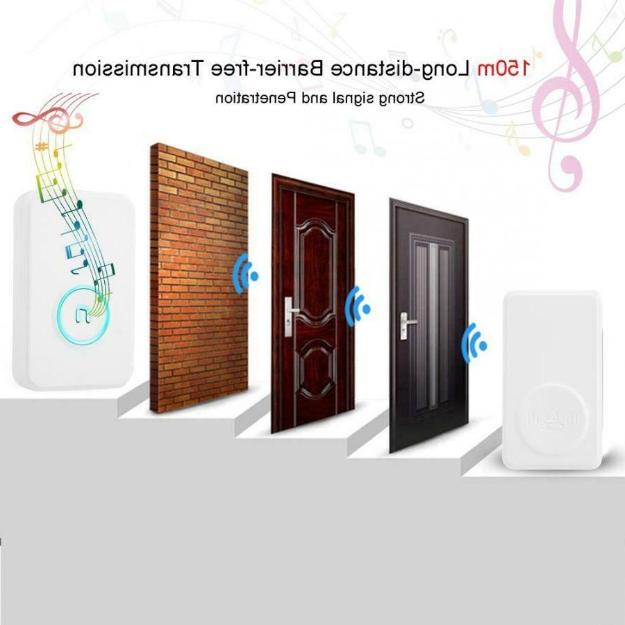 Wireless Entry Security Doorbell Magnetic DH