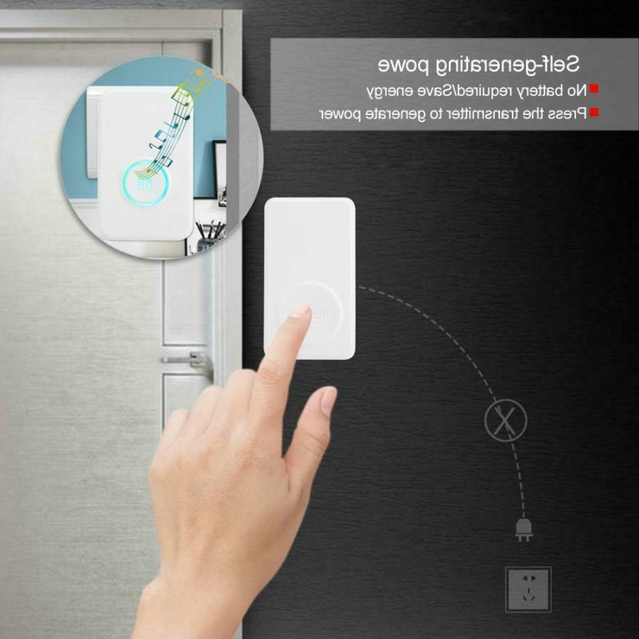 Wireless Entry Alarm Doorbell Magnetic DH