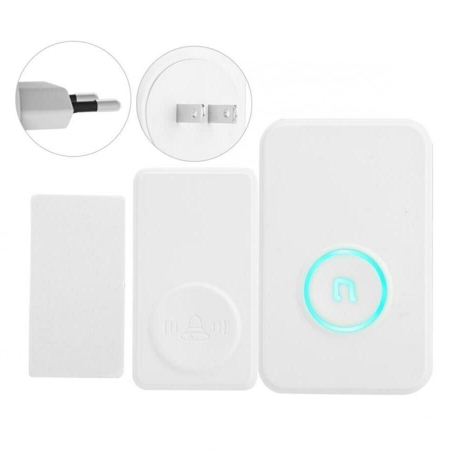 Wireless Chime Entry Alarm Doorbell Magnetic Sensor DH