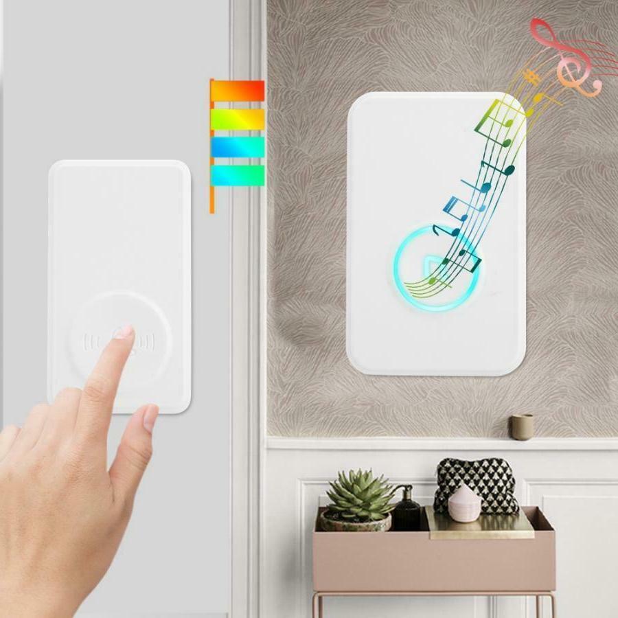 wireless window door open chime entry security