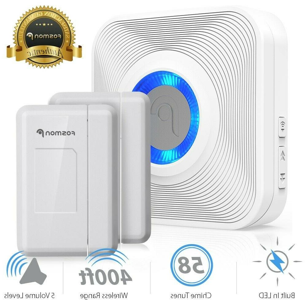 Wireless Security Alarm Doorbell Chime Magnetic