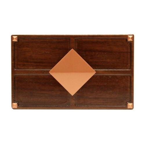 Hampton Door Medium Red Oak Wood Medallion