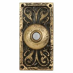 Craftmade Large Designer Surface Mount Lighted Push Button