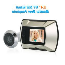 LCD Visual Wireless Doorbell Monitor Electric Peephole video