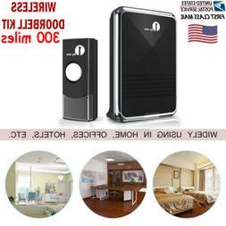 1byone Wireless Doorbell 36 Sounds 1000ft  Receiver + Bell P