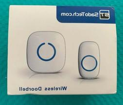 SadoTech Model C Wireless Doorbell, Easy Install, Over 1000-